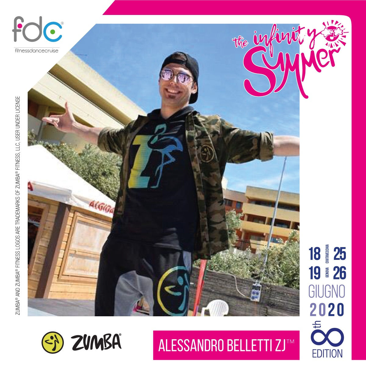 Zumba FDC Presenter Alessandro Belletti