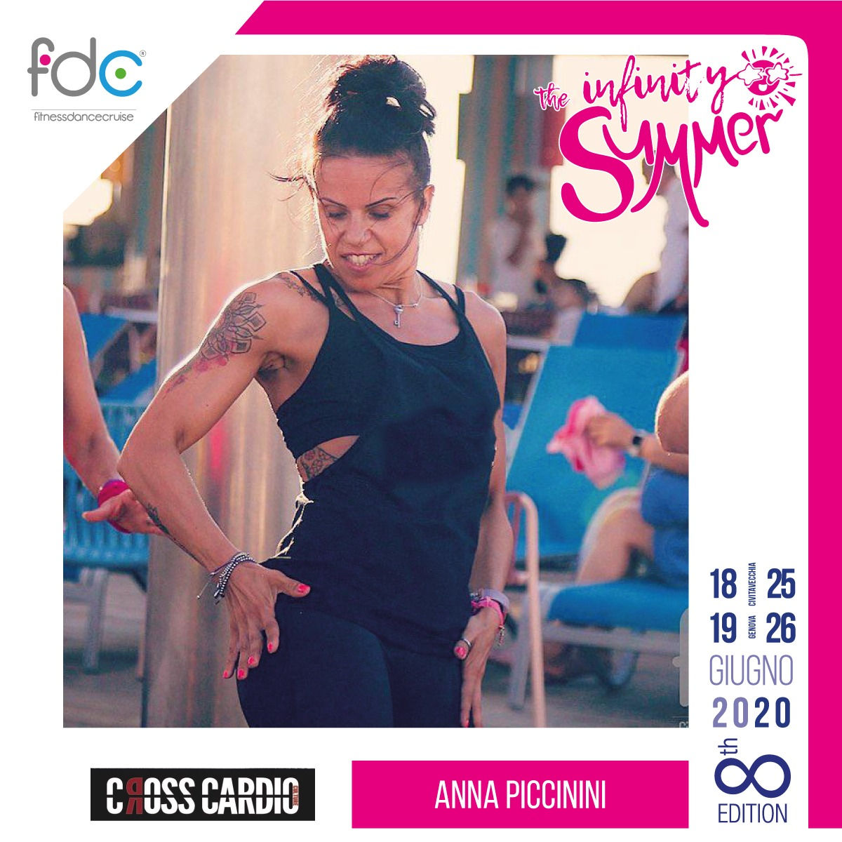 Cross Cardio FDC Presenter Anna Piccinini