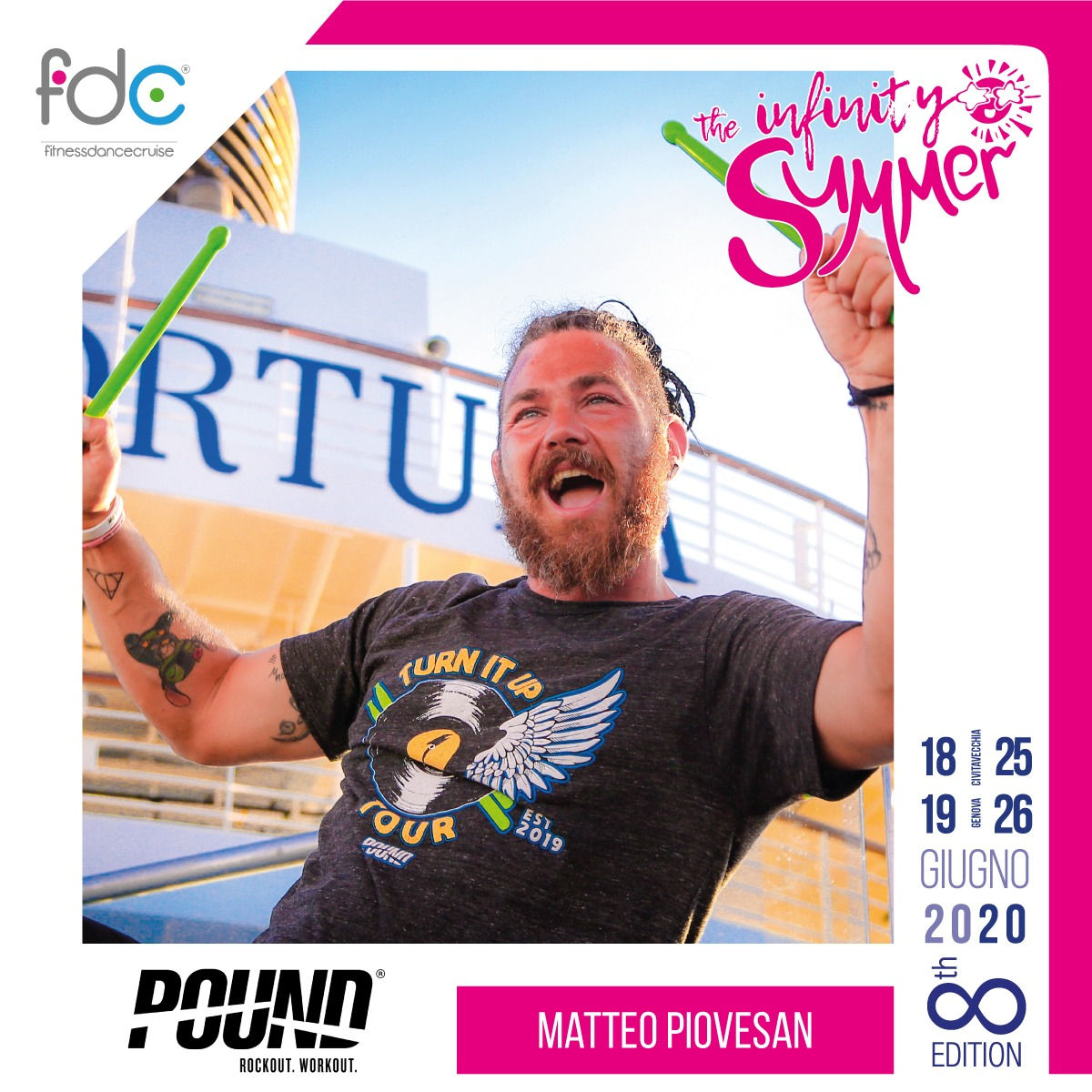 Pound FDC Presenter Matteo Piovesan