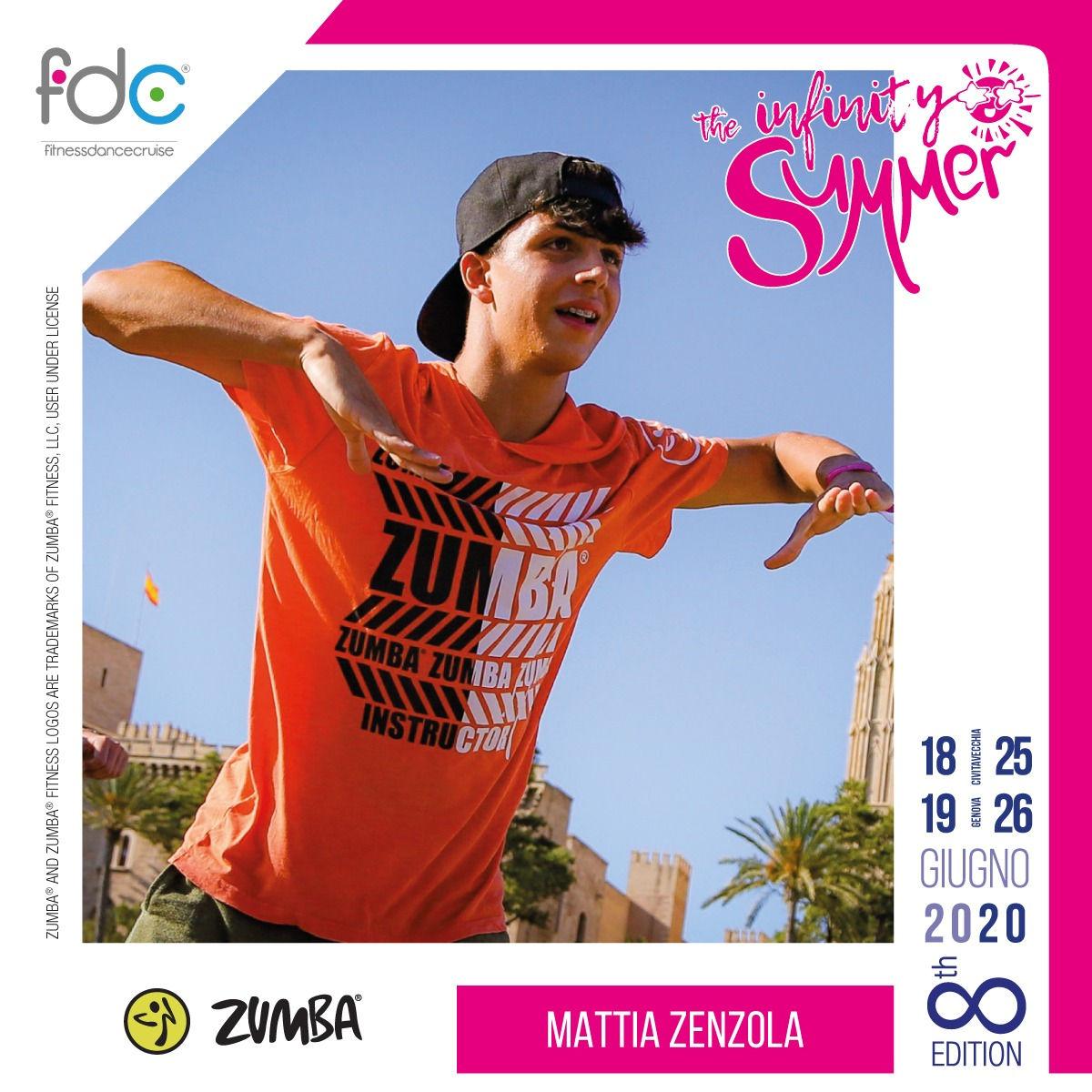 Zumba FDC Presenter Mattia Zenzola